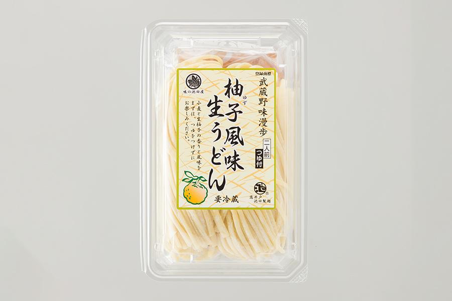 画像:武蔵野味漫歩 柚子風味生うどん