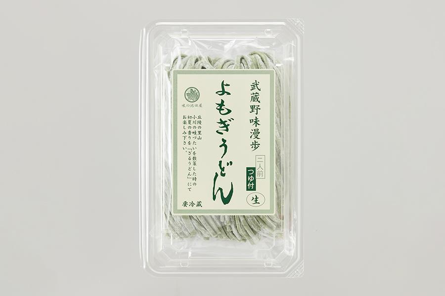 画像:武蔵野味漫歩 よもぎうどん