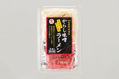 画像:武蔵野味漫歩  からし味噌ラーメン